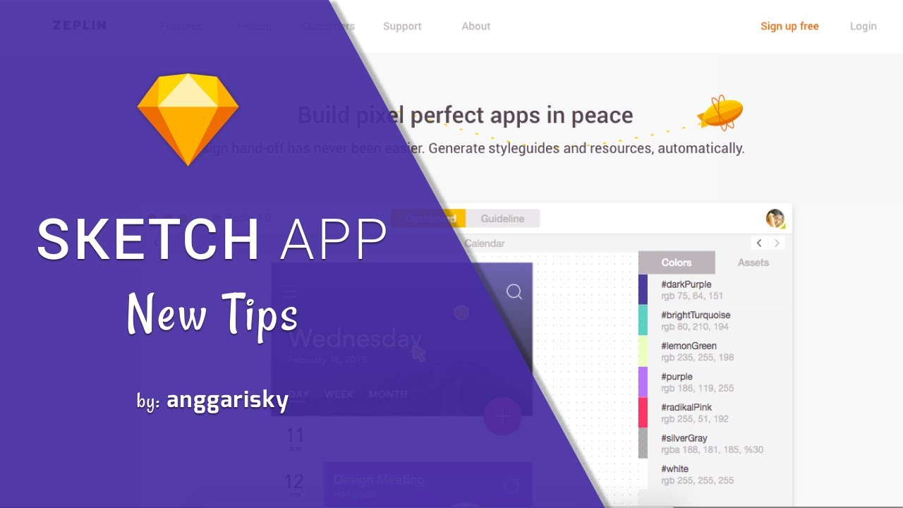 sketch and zeplin app are powerful ui ux design tools - Ui Designer Tools