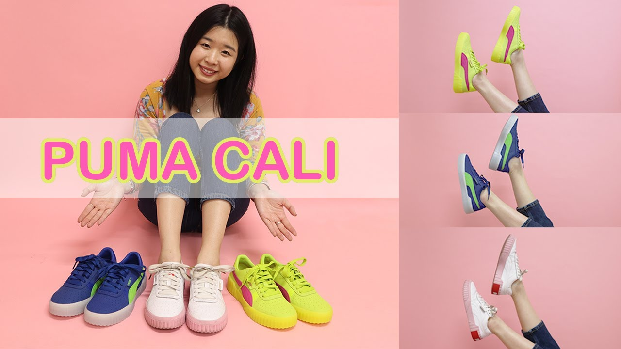 PUMA CALI 90s SNEAKERS | SHOE UNBOXING, TRY ON, & REVIEW