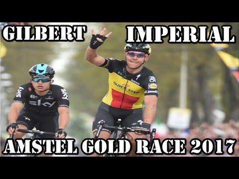 AMSTEL GOLD RACE 2017 UN GILBERT IMPERIAL LA GANA POR 4º VEZ
