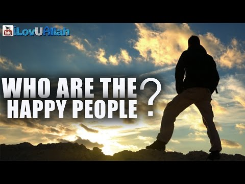Who Are The Happy People? ᴴᴰ | Mufti Menk