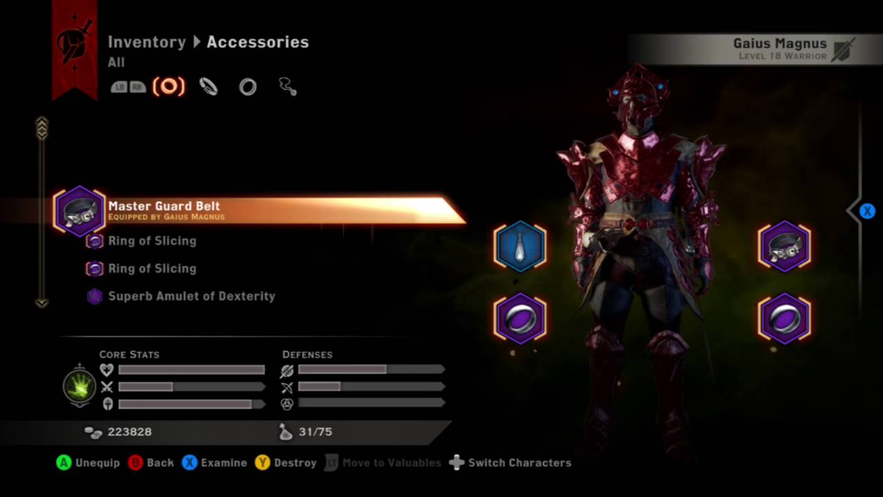 Dragon Age Inquisition Best Build For Weapon And Shield