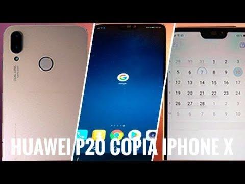 El Huawei P20 es la copia descarada del iPhone X