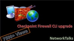 CheckPoint Firewall Backup,Restore and Upgrade Tutorial