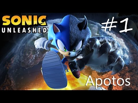 Прохождение Sonic Unleashed (Wii) #1 - Apotos Day