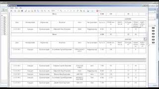 Создание отчетной документации в A TMS+