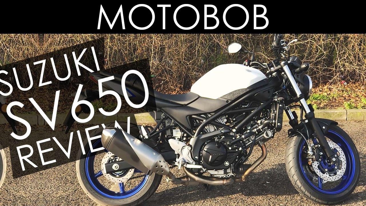 2017 Suzuki SV650 Review Test Ride