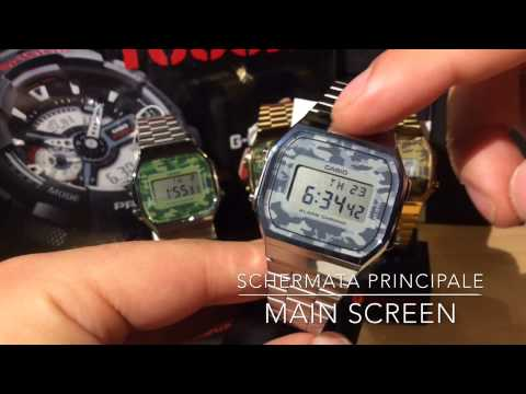 42d78310415b Review Casio Vintage Camouflage A168WEC-1EF A168WEC-3EF A168WEGC-3EF  A168WEGC-5EF