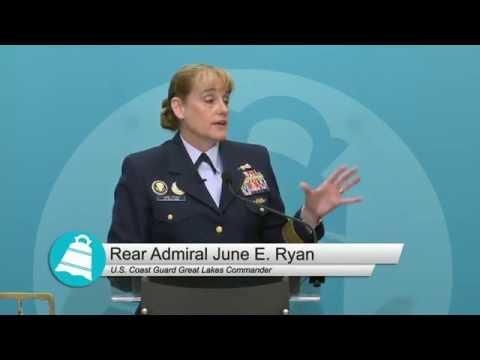 Rear Admiral June E. Ryan 6.10.2016