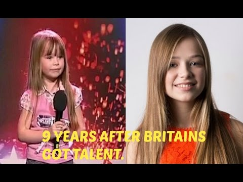 9 YEARS AFTER BRITAIN&39;S GOT TALENTAge 6 to 15 - Connie talbot