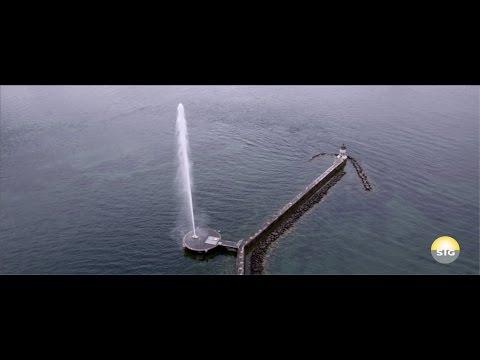 Le Jet d'eau de Genève comme vous ne l'avez jamais vu !