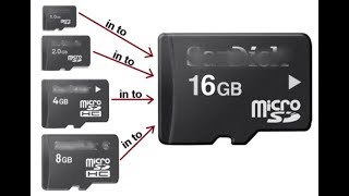 How To Increase The Size Of Your Memory SD CARD From 2GB To 8GB Trick Latest 2017 !!