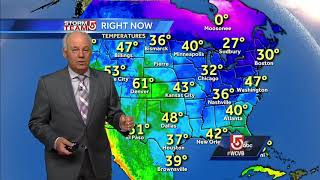 Video: Temperatures begin to rise for the weekend