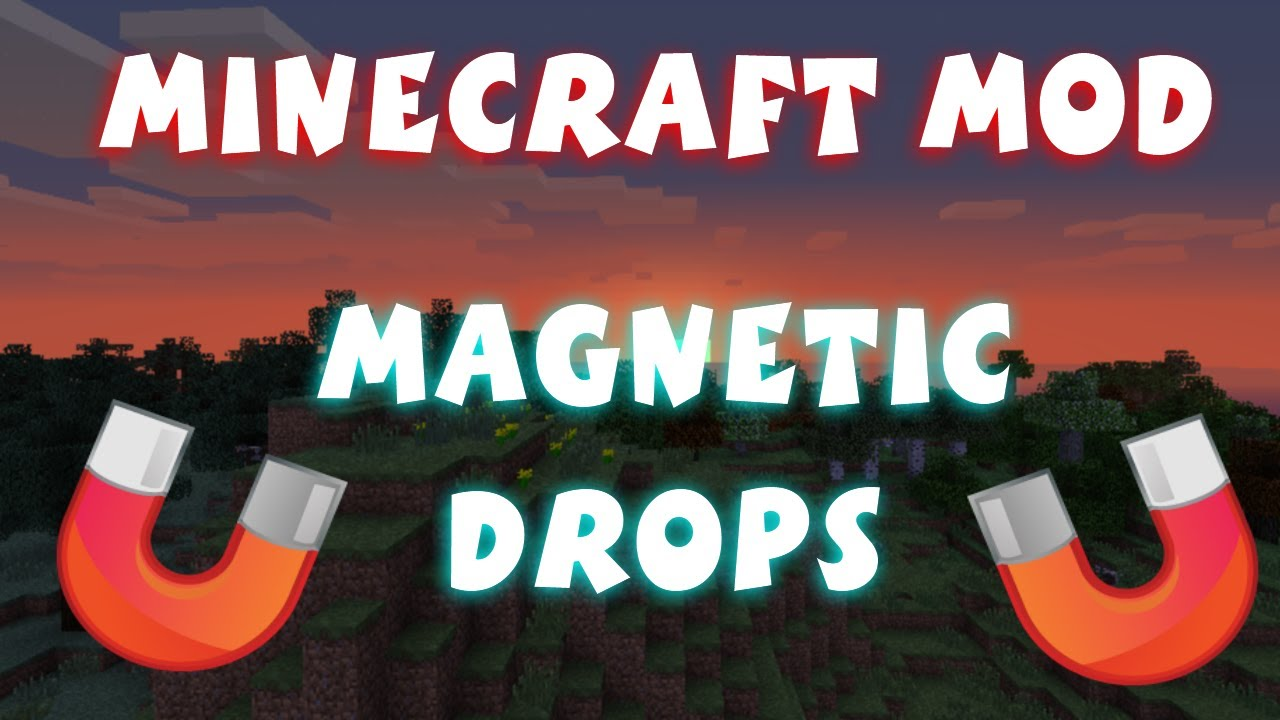 майнкрафт мод магнетик #2