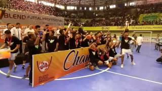 Final Pro liga Futsal 2016-2017.Champion Vamos FC
