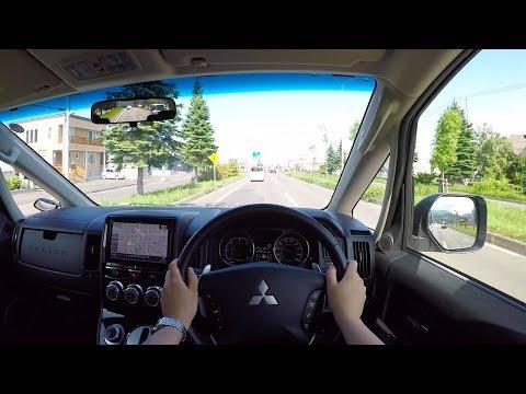 【test-drive】2018-mitsubishi-delica-d5-active-gear-diesel-4wd---pov-city-drive