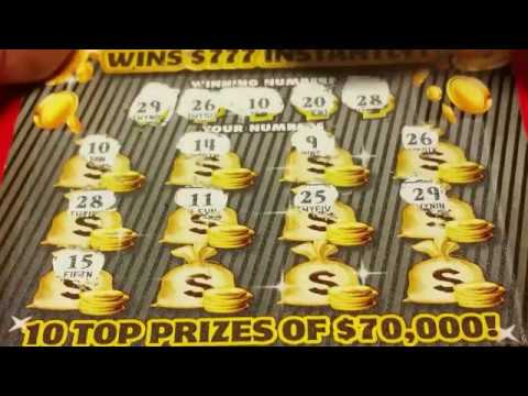 PA LOTTERY INSTANT GAMES--- $5 777 TICKETS---ANOTHER NICE WINNER!!!