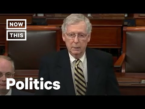 Why  Mitch McConnell Is Blocking the Full Mueller Report's Release | NowThis