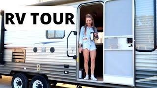 SOLO FEMALE VAN LIFER PURCHASES RV TO RENOVATE // RV TOUR