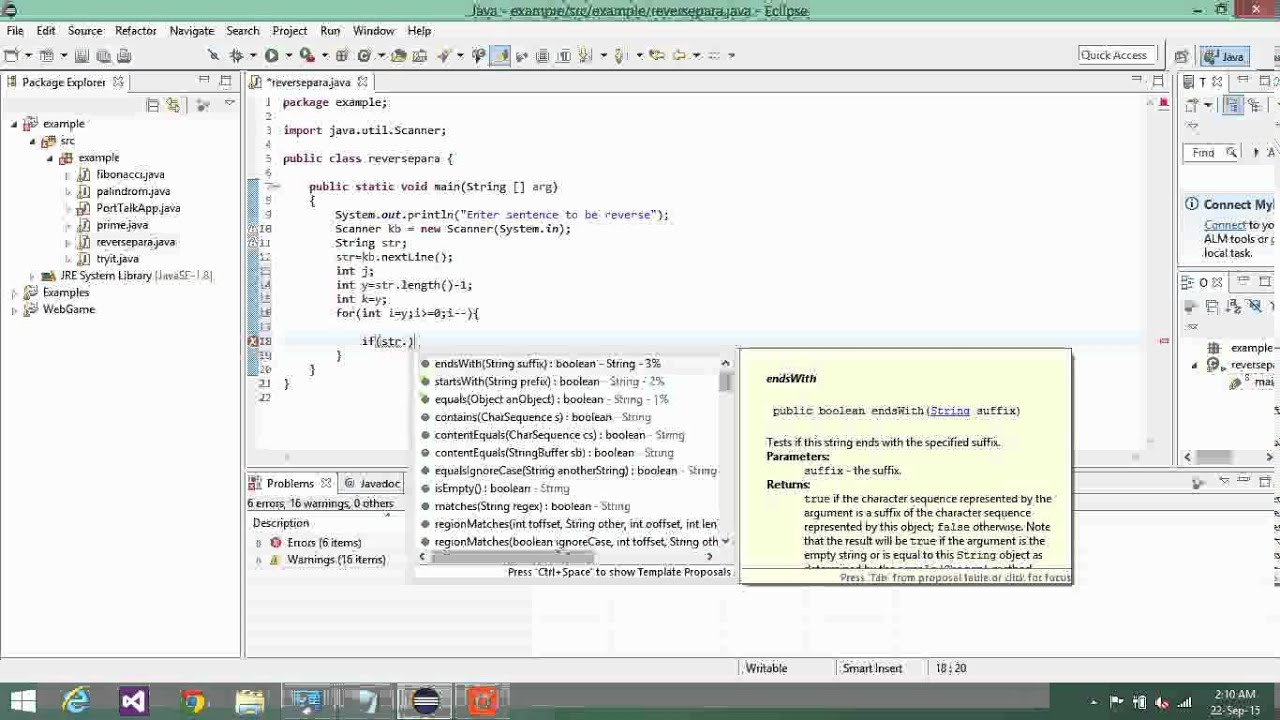 ors and ands in java code