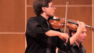 SZYMANOWSKI Nocturne and Tarantella: Nocturne - Jesse Munoz, violin - April 2014
