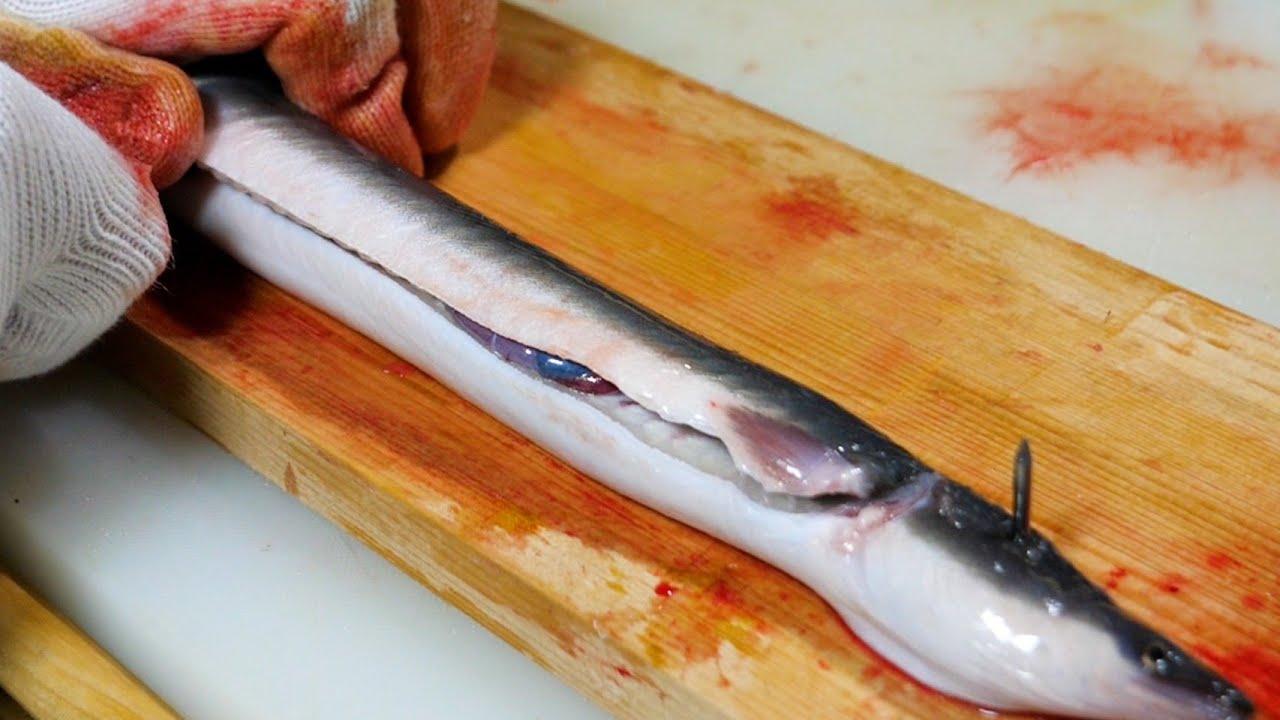 【炭火焼き】うなぎを特殊な刃物でさばいたら、簡単すぎてびびった!www
