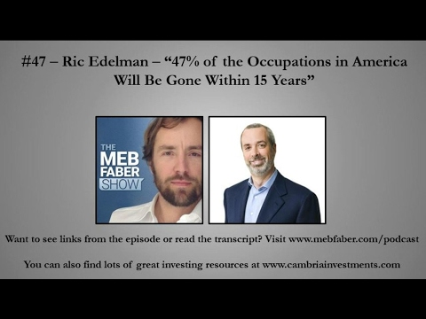 "#47 - Ric Edelman - ""47% of the Occupations in America Will Be Gone Within 15 Years"""