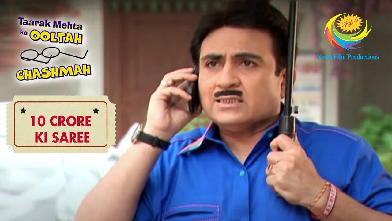 Will Jetha Be Able To Fulfill Everyone's Wish? | Taarak Mehta Ka Ooltah Chashmah | 10 Crore Ki Saree