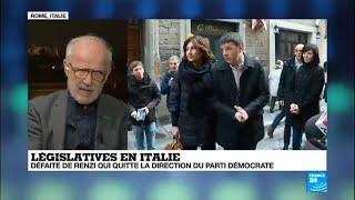 Législatives en Italie créent une nouvelle scène politique