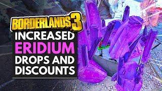 BORDERLANDS 3 | Increased ERIDIUM DROPS & Discounts - Anniversary Event