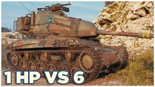 Strv 74 • 1 HP vs 6 ENEMIES