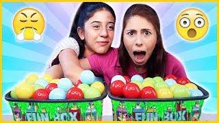 Kutudan Ne Çıkacak Slime Challenge Top Havuzlu Slaym Eğlenceli Çocuk Videosu Dila Kent