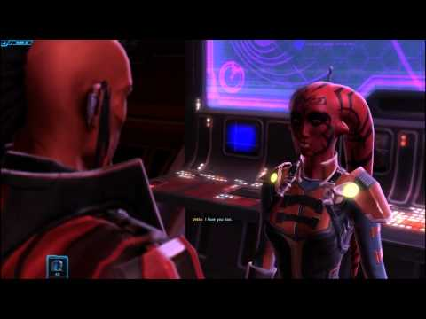 SWTOR Sith Warrior Companions: Vette - I Married A Sith (Romance)