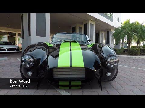 rare-optioned-backdraft-racing-cobra!-lamborghini-green-stripes!