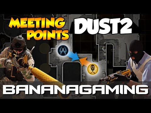 CS:GO - Noob to Pro - Meeting Points Dust2