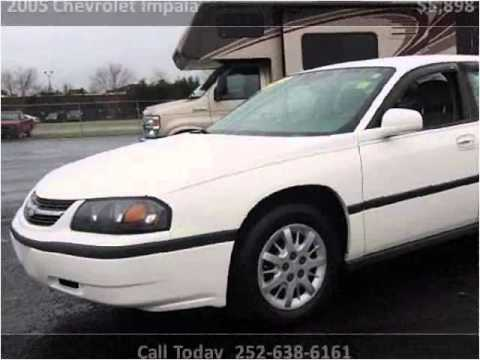 2005 chevrolet impala used cars new bern nc youtube. Black Bedroom Furniture Sets. Home Design Ideas