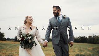 Angela + Zach CINEMATIC WEDDING FILM