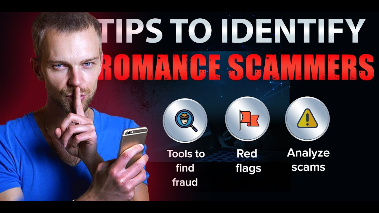Male scammers on dating sites