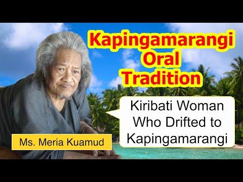 Legend of Kiribati woman who drifted to Kapingamarangi Atoll