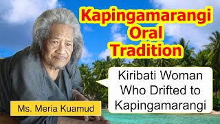 Repeat youtube video Legend of Kiribati woman who drifted to Kapingamarangi Atoll