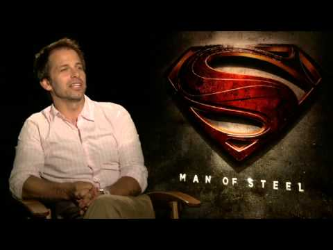 Zack Snyder Interview - Man Of Steel
