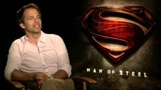 Zack Snyder Interview - Man Of Steel