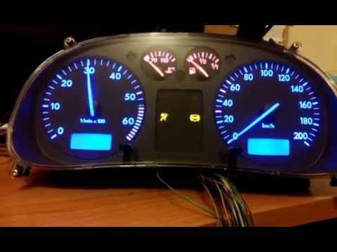 Instrument Cluster Vw Polo Youtube