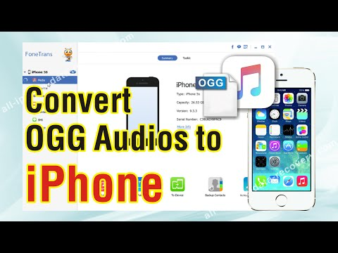 Easy Way to Convert OGG Audios to iPhone 7/6S Plus/6S