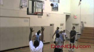 Dre Baldwin: Full Court Game Clip #13 | One Dribble Elevation Baseline Pullup Jumpshot | Dwyane Wade