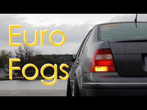 $10 mods - euro rear fog light install