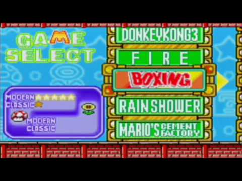 Game & Watch Gallery 4 - Boxing And Donkey Kong 3 (Classic)