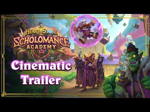 Scholomance Academy Cinematic Trailer   Announcement Video