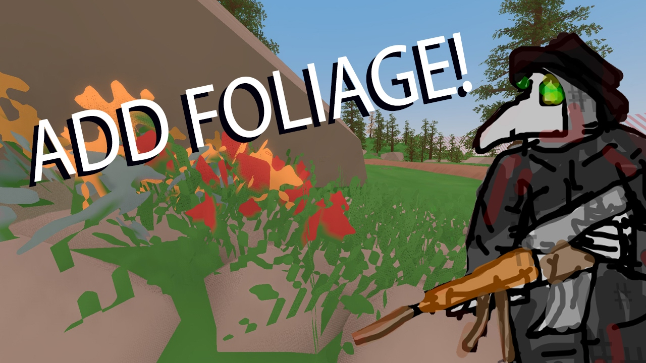 How To Add FOLIAGE To Unturned Maps YouTube - Japan map unturned