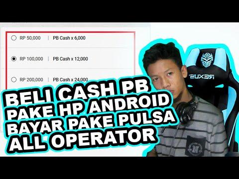 Cara Membeli G Cash Melalui Pulsa
