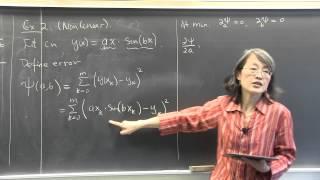 cmpsc math 451 march 27 2015 nonlinear least squares method wen shen
